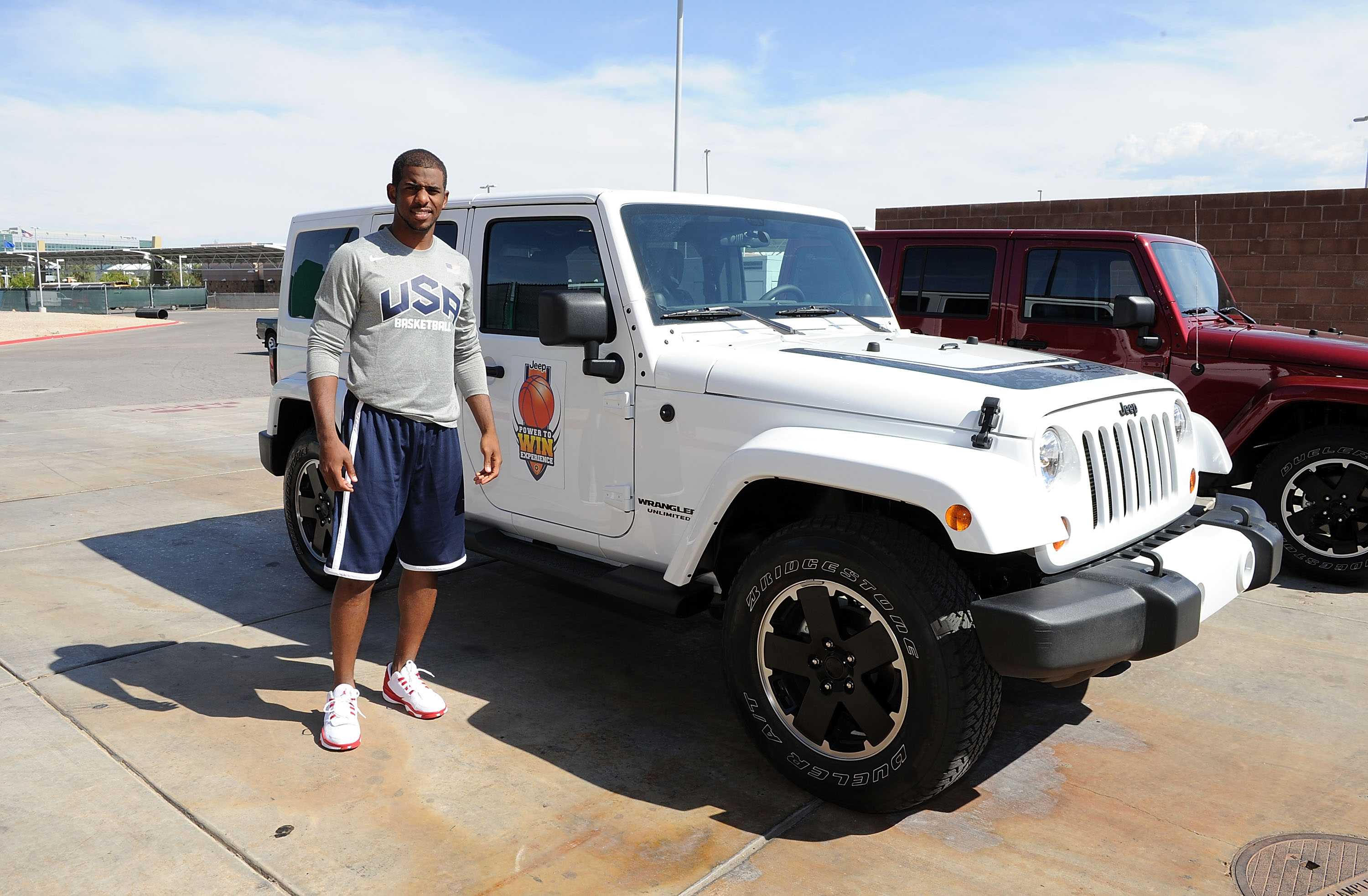 The Jeep Brand Hosts Exclusive Basketball Clinic For Boys' And Girls' Basketball Team From Jalen Rose Leadership Academy – Day 1